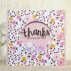 Thanks Shaker Card by Lucy Abrams | Flickr - Photo Sharing!