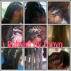 Special offer for NEW clients with Tonya: 20% off Wash ,Retwist & Design!!