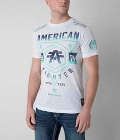 American Fighter, Men's Shirts, New Look, Christmas Ideas, Colour, Grey, Mens Tops, T Shirt, Clothes