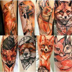 Foxtattoo fox Watercolor geometric art sketch color Foxtattoo Fuchs Aquarell geometrische Kunstskizzenfarbe Source by . Deer Tattoo, Raven Tattoo, Tattoo Ink, Arm Tattoo, Nature Tattoos, Body Art Tattoos, Fox Tattoos, Hand Tattoos, Tatoos