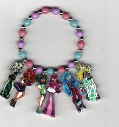 Monster High Inspired Bracelet by Oseweverything on Etsy, $7.00