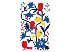 Threadless t-shirt design - Happy Birds, by Andy Gonsalves
