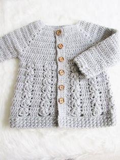 8f13649f195e 85 Best Crochet baby cardigan images