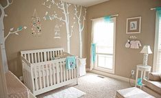 Take a look at these neutral inspired nurseries designed and created to accommodate any gender.