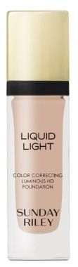 Sunday Riley - Liquid Light Color Correcting Luminous HD Foundation #niche beauty