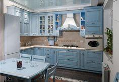 кухня угловая голубая: 26 тыс изображений найдено в Яндекс.Картинках