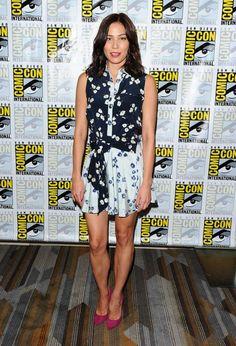 Michaela Conlin - 'Bones' Press Line at Comic-Con 2016 in San Diego