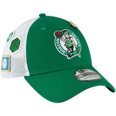 ebc3b13b Boston Celtics New Era 2018 Draft Fitted Hat Kelly Green