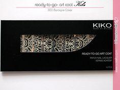 Ready-to-Go Art Coat Patch Nail Lacquer 300 Baroque Cover Kiko ~ Il Taccuino dell'Elfa
