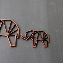 """Origami """"Elefant"""" by NOGALLERY"""