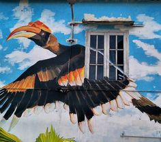 Kuching is also part of the street art movement in Malaysia. Exploring the older part of Kuching city will uncover some of the beautiful & creative street art murals done by local Sarawakian artist.  Next time you're in Kuching  take some time to walk around the old part of town. . . . . . #kuching #sarawak #travel #streetart #borneo . . . Kuching, Instagram Travel, Cultural Diversity, Borneo, Murals, Exploring, Street Art, Old Things, City