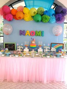My little pony balloon rainbow via instagram inspo for Balloon decoration for birthday party philippines