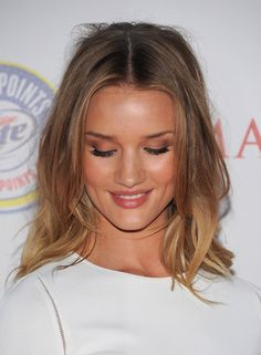 Rosie Huntington-Whiteley Hair & make up