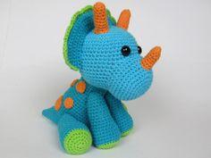 Triceratops Tripi / Dinosaur Pattern $5.50