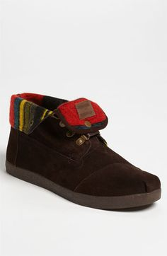 TOMS 'Highlands' Suede Boot (Men) available at #Nordstrom Love (: