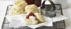 Scones with Fresh Raspberry Jam recipe, brought to you by MiNDFOOD.