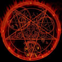 Pentagram Art | Devil Pentagram