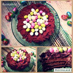 Ruokailmiö: Tuhti suklaakakku kaikkiin tilanteisiin #suklaa #täytekakku