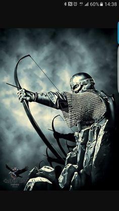 Viking archers by thecasperart.devi… on – Norse Mythology-Vikings-Tattoo Viking Life, Viking Art, Viking Warrior, Viking Symbols, Les Runes, Asatru, Norse Vikings, Viking Tattoos, Fantasy Warrior