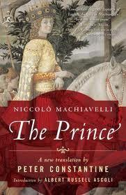 """The Prince, Niccolo Machiavelli"