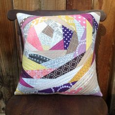 I'm very excited to put some new quilted pillow covers in my shop. I've made a goal for myself to stock my shop full of goodies for the holidays, and these pillows are just the beginning! I'm just in love with this quilting technique, and I think it creates really fun, unique pillows. Each pillow cover is made with high-quality quilter's cottons and has an envelope enclosure in the back (pillow insert not included). All the items in my shop are from my pet- and smoke-free stud...