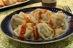 Pelmeni, the best russian food ever! I love to serve it with sour cream