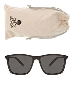 Cheap Monday Rectangular Framed Sunglasses #cheapmonday #sunglasses #rectangular
