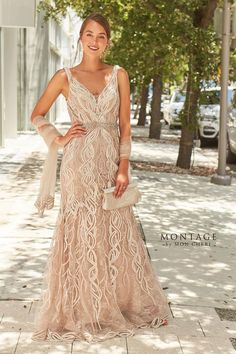 Mother of the Bride Dresses by Montage | Mon Cheri | Special Occasion Formal Wear for the Modern Mother Mob Dresses, Tea Length Dresses, Wedding Dresses, Formal Dresses, Event Dresses, Bouquet Wedding, Wedding Attire, Wedding Nails, Fashion Dresses