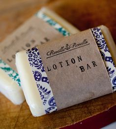 Natural Solid Lotion Bar | Women's Beauty | Reveille Reveille | Scoutmob Shoppe | Product Detail