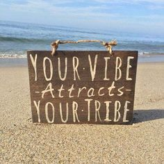 Your Vibe Attracts Your Tribe Sign / Wood Sign / Hippie Sign / Bohemian Decor / Hippie Decor / Gypsy Decor / Bohemian Wall Decor x South Beach, Bohemian Wall Decor, Gypsy Decor, Bohemian Gypsy, Boho Room, Bohemian Beach, Bohemian Living, Bohemian Fashion, Key West Florida