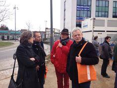 Kijkje op de bouwplaats in noord (8 februari 2014)