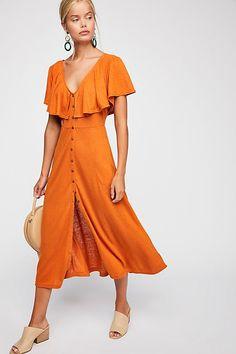DAY Birger et Mikkelsen Fp Beach Messenger Midi Dress Day Dresses, Cute Dresses, Casual Dresses, Flowy Dresses, Dress Skirt, Wrap Dress, Summer Outfits, Summer Dresses, Button Front Dress