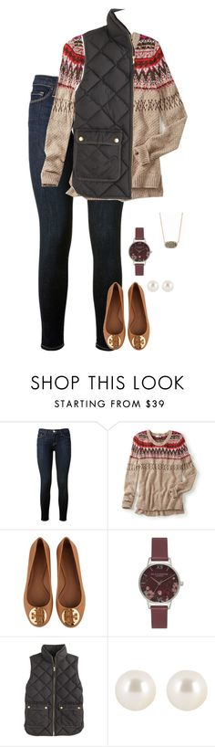 """Untitled #104"" by preppy123 ❤ liked on Polyvore featuring moda, Frame Denim, maurices, Tory Burch, Olivia Burton, J.Crew, Henri Bendel i Kendra Scott"