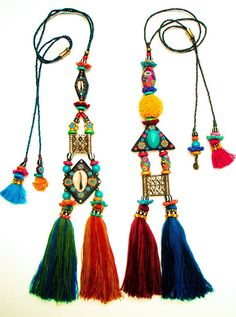 asian tribal necklaces