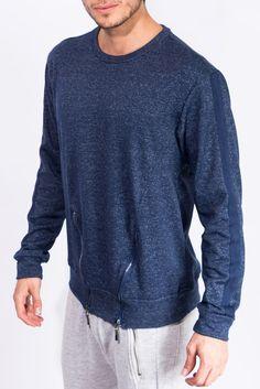 Sweater - Buso Azul Jaspe