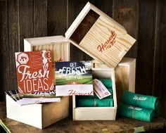 Harvest Pop // Collateral for a Point of Purchase trade show in Las Vegas. //Created at Harvest Creative