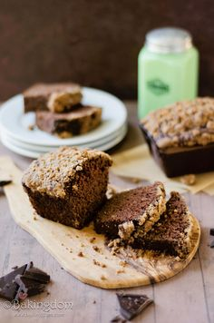 Chocolate Cinnamon Streusel Bread Recipe...this looks incredible and she says it makes a great breakfast... well she did    ;)