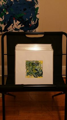 Connie shares her paintings in show kits! Matboard and More offers bags and backing in just about any size.
