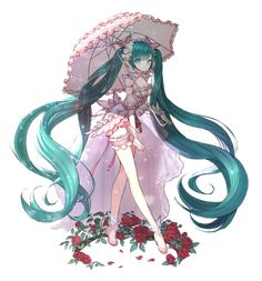 Miku Hatsune, vocaloid, looks like little bow peep. Really cute♡♡♡ESTERIA-cutie emily pie (*_☆)》 Vocaloid, Kaito, Anime Manga, Anime Art, Miku Chan, Mikuo, Cosplay Tutorial, Beautiful Anime Girl, Anime Outfits