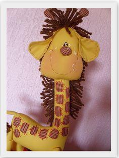 Coleção Bichinhos Fofos...Detalhe da Girafinha... by Atelier Eu & Voce by Andrea Malheiros, via Flickr