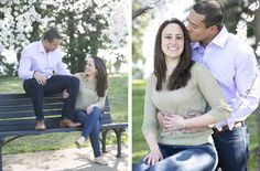 Samantha & Jerritt {cherry blossom engagment} Washington DC - Heidi Roland Photography