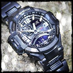 #GA1000 #GShock #Aviation #series. Featuring a digital compass, thermometer and more!