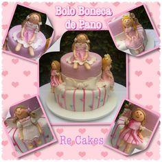 Bolo Boneca de Pano Doll Cake