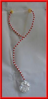 .: Doktersfeestje deel 1: maak een stethoscoop! : met ijzerdraad, strijkparels, stevig karton, aluminiumfolie en sponsjes: