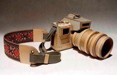 cámara fotofráfica de cartón