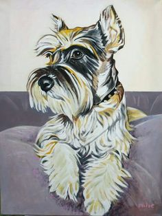 I would love to have Molly painted.