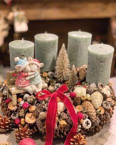 Modern Christmas, Winter Christmas, Christmas Time, Christmas Advent Wreath, Christmas Decorations, Seasonal Decor, Holiday Decor, Xmas 2015, Diy And Crafts