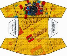 Film Lego: Darmowe Skrzynki druku.