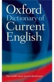 Oxford Dictionary Of Current English  Paper Back