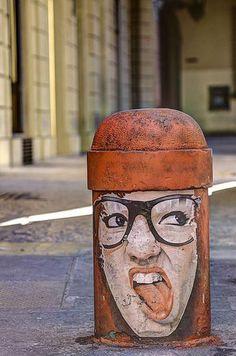 Street art  - Bologna, Italie
